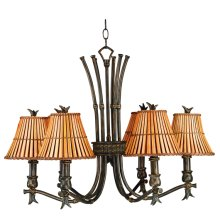 Kwai - 6 Light Chandelier