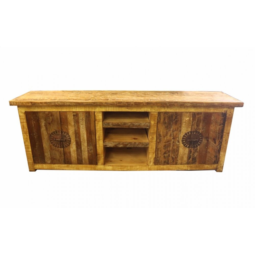 Factory 4 Rustic TV Cabinet w/ 4 Drawers