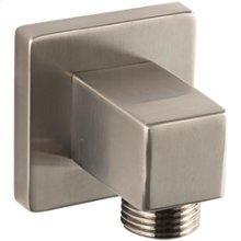 SQU Shower Outlet Elbow - Brushed Nickel