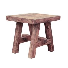 Old Wood End Table