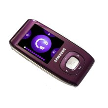 Slim Portable 2GB Multimedia Player (purple)