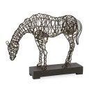 CKI Anatole Woven Horse Statuary Product Image