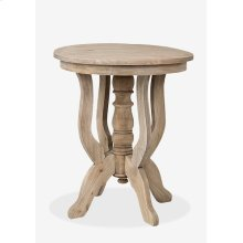 Promenade Round Side Table (24x24x28)