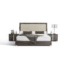 Modrest San Marino Modern Grey Bed