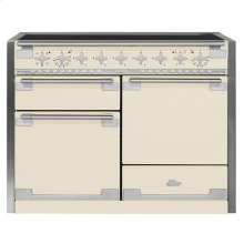 AGA Elise 48 Induction Ivory with Chrome trim