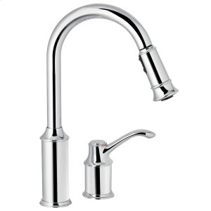 Aberdeen chrome one-handle pulldown kitchen faucet Product Image