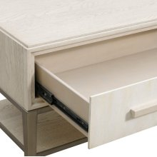 Meyers Park 1 Drawer USB Charging Open Nightstand