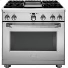 """Monogram 36"""" All Gas Professional Range with 4 Burners and Griddle (Liquid Propane) Product Image"""