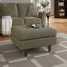 Empress Upholstered Fabric Ottoman in Oatmeal Product Image
