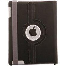 Polaroid Hard Shell iPad 2 and iPad 3 Rotating Folio Case, Black - PAC100BK