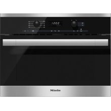 M 6160 TC Built-in microwave oven with controls along the top for optimal combination possibilities.