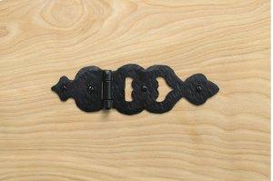 """Black 7.75"""" Gate Hinge 467425 Product Image"""