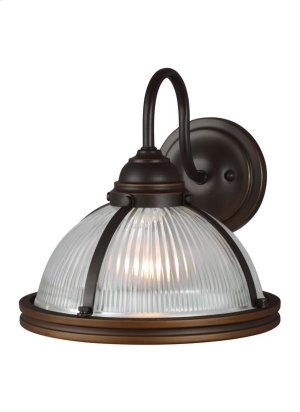One Light Wall Sconce Product Image