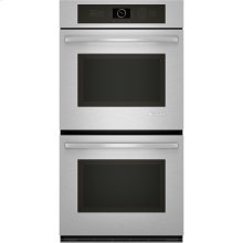 "Double Wall Oven with Upper MultiMode® Convection, 27"", Euro-Style Stainless Handle"