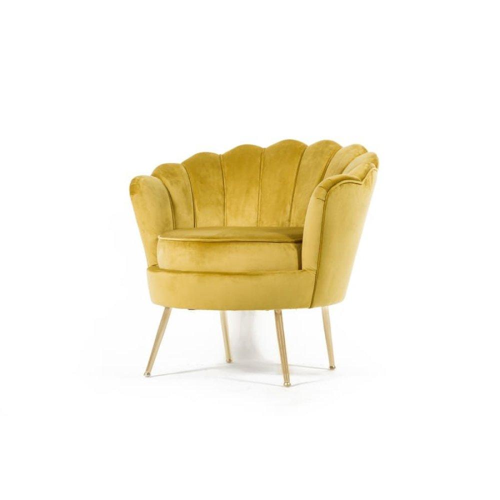Fleur Gold Accent Chair, AC1832