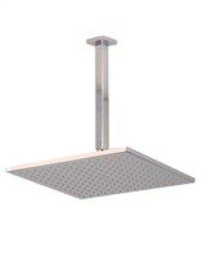"12"" Shower Rainhead, 9.5"" Ceiling Mount Arm - Brushed Nickel Product Image"