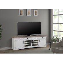 Americana Modern Cotton 92 in. TV Console