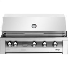 42-In. Built-In Natural Gas Grill in Stainless