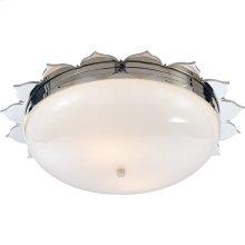 Visual Comfort AH4030PN-WG Alexa Hampton Rachel 2 Light 18 inch Polished Nickel Flush Mount Ceiling Light