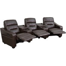 Theatre Seats  Leather Reclining Home Theatre Sectional Sofa