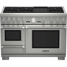 48-Inch Pro Grand® Commercial Depth Dual Fuel Steam Range Open Box *Free Dishwasher With Purchase*