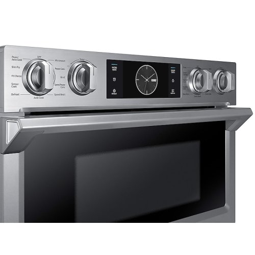 "30"" Flex Duo Microwave Combination Wall Oven in Stainless Steel"