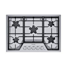 SGS305TS ® offers an impressive 30-inch gas cooktop with 5 patented Star® burners, including a center-mounted power burner, and 52,000 BTUs of overall heat output. 30-Inch Masterpiece® Star® Burner Gas Cooktop