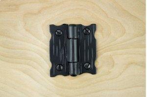 "Black 2"" Furniture Hinge 658265 Product Image"