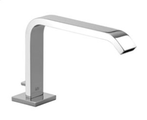 Tub spout with diverter for deck-mounted installation - chrome Product Image