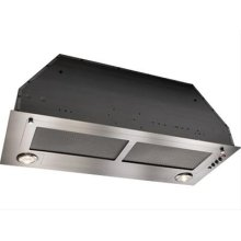 """27-9/16"""" Stainless Steel Range Hood with 800 CFM Internal Blower *Discontinued Model*"""
