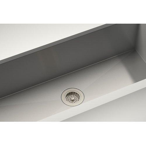 "Drain 100082 - Stainless steel sink accessory , Satin Nickel, 3 1/2"""