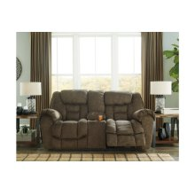DBL Rec Loveseat w/Console