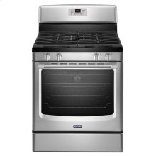 ( DISCONTINUED FLOOR MODEL) Maytag® 30-inch Wide Gas Range with Convection and Third Rack - 5.8 cu. ft. - Stainless Steel