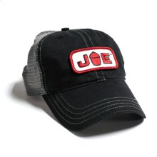 Mesh Back Joe Hat- Black/ Charcoal