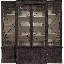 Artisan 4-Dr Ash Grand Cabinet w/Glass Doors