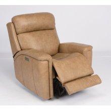 Sandlot Leather Power Recliner with Power Headrest