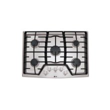 "30"" Gas Cooktop with SuperBoil"