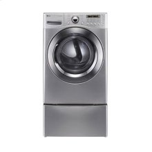 7.4 cu.ft. Ultra-Large Capacity SteamDryer with NeveRust Stainless Steel Drum (Gas)