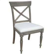 Cross Back Side Chair - Rw