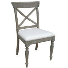 Cross Back Side Chair - Rw