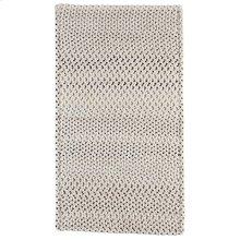 Dramatic Static Foggy Day Braided Rugs (Custom)