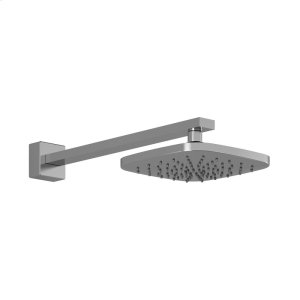 Square shower head with vertical or wall arm - Chrome Product Image