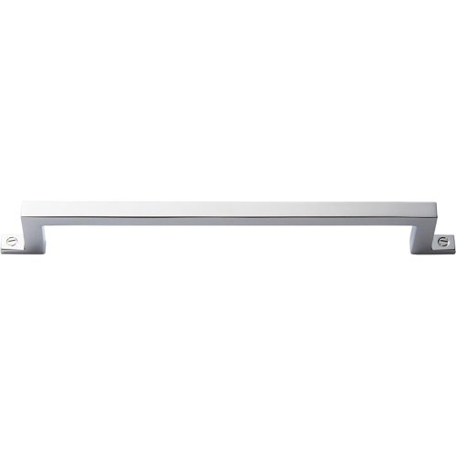 Campaign Bar Pull 6 5/16 Inch - Polished Chrome