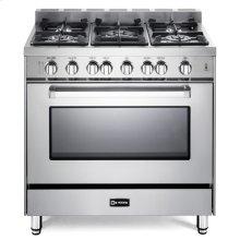 """Stainless Steel 36"""" Gas Single Oven Range - 'N' Series"""