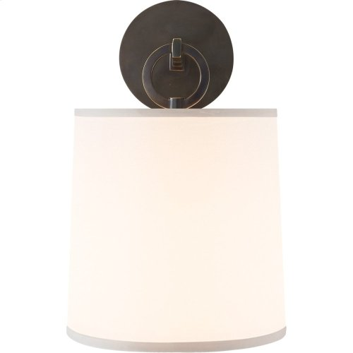Visual Comfort BBL2035BZ-S Barbara Barry French Cuff 1 Light 8 inch Bronze Decorative Wall Light