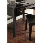 """Oslo Writing Desk, Black 54""""x28""""x30"""" Product Image"""