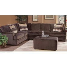 8800 Olympian Chocolate Sectional