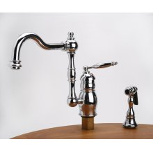 Julianne - Kitchen Faucet with Side Spray - Bellagia Bronze
