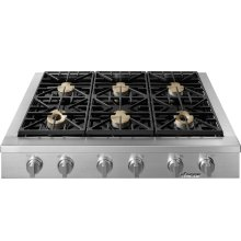 "Heritage 48"" Rangetop, Natural Gas"