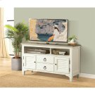 Myra - 54-inch TV Console - Natural/paperwhite Finish Product Image